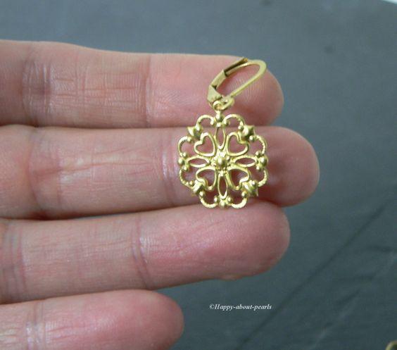 Ohrringe filigran von Happy-about- Pearls auf DaWanda.com