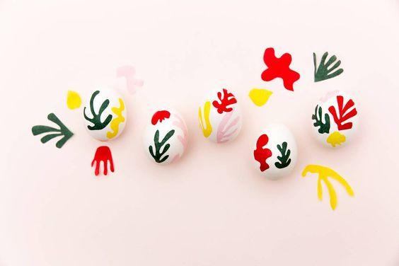 Matisse eggies: