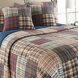 Freeport Madras Plaid Quilt Set Quilt Sets Quilt And Plaid