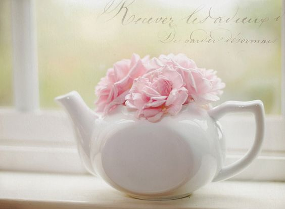 Windowsill Teapot by ImagesByClaire, via Flickr