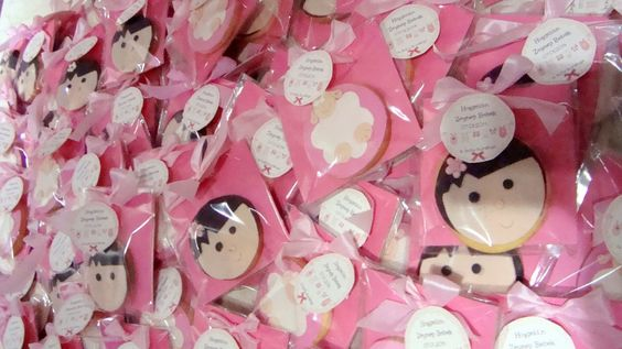 bi kutu kurabiye  baby shower cookie