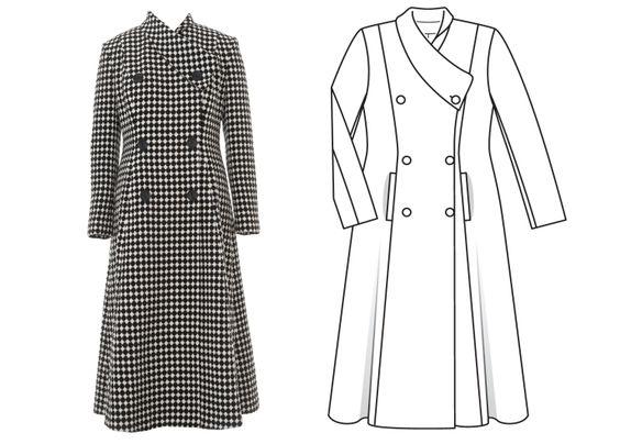 Burda Coat September 2016