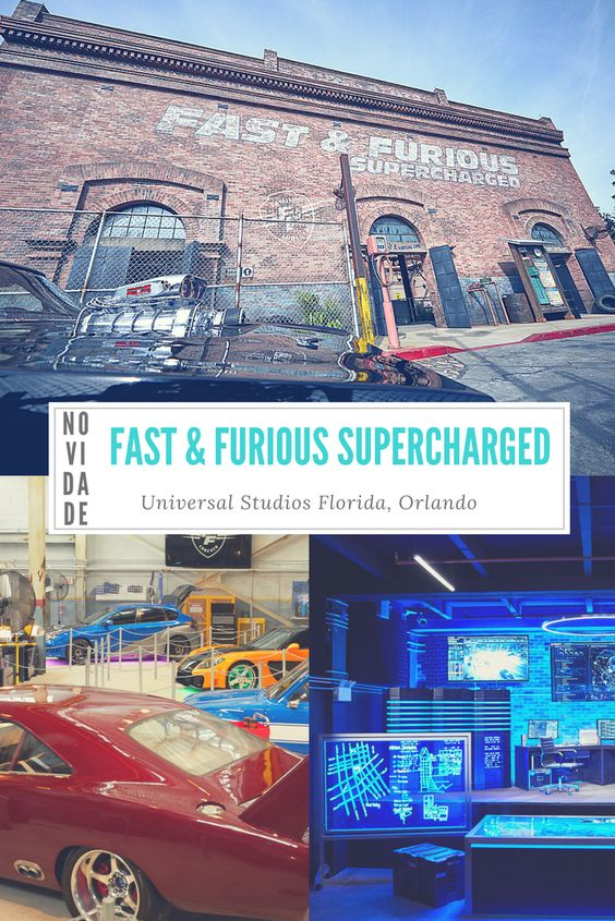 Pinterest - Fast & Furious Supercharged, Orlando