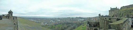 Vista desde Castillo de Edimburgo Escocia #Edinburgh #Scotland