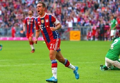 (Video) FC Bayern München 6 - 0 Werder Bremen  highlights and goals & full match ,BundesLiga Highlights 18/10/2014