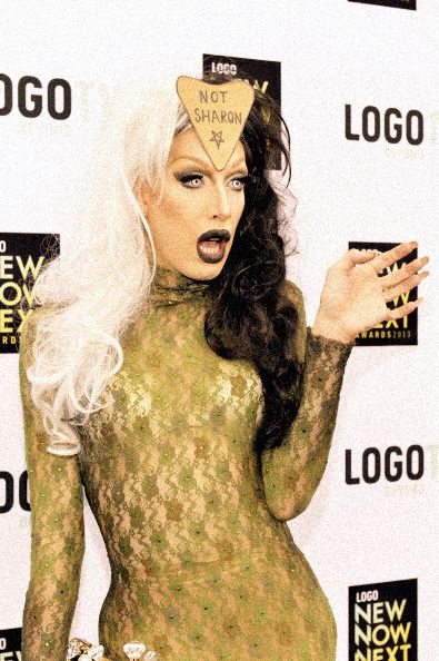Alaska serving Sharon Needles realness. . . literally