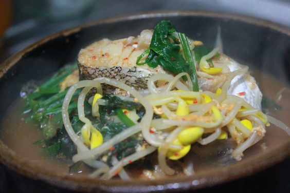 Stew daegu and korean food on pinterest for Fish soup cod