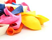 Pile of uninflated balloons (Image: Thinkstock)