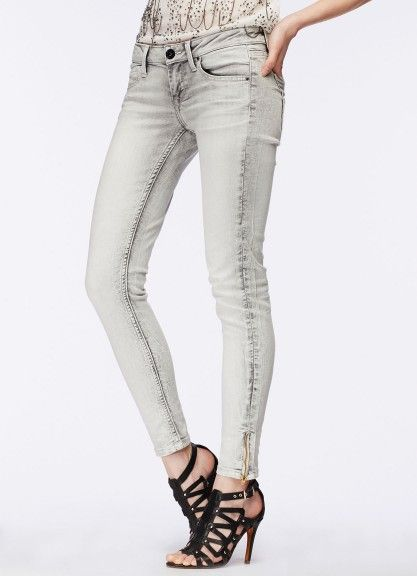 Buy zipper detail slim fit jeans | Pepe Jeans London
