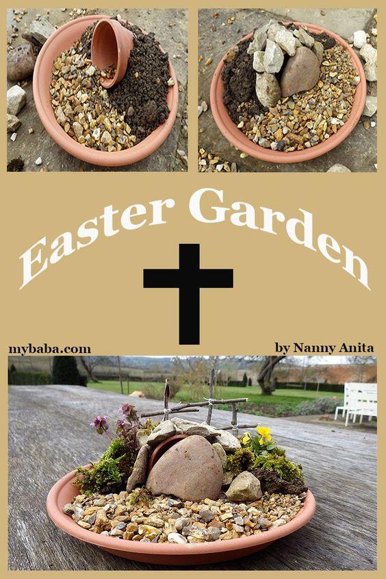 Make your own Easter Garden to celebrate Jesus' resurrection.