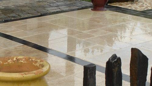 Pave Gres India Pave Granit Bordure Ardoise Revetement Sol Exterieur