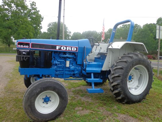 6640 Ford Tractor : Pinterest the world s catalog of ideas