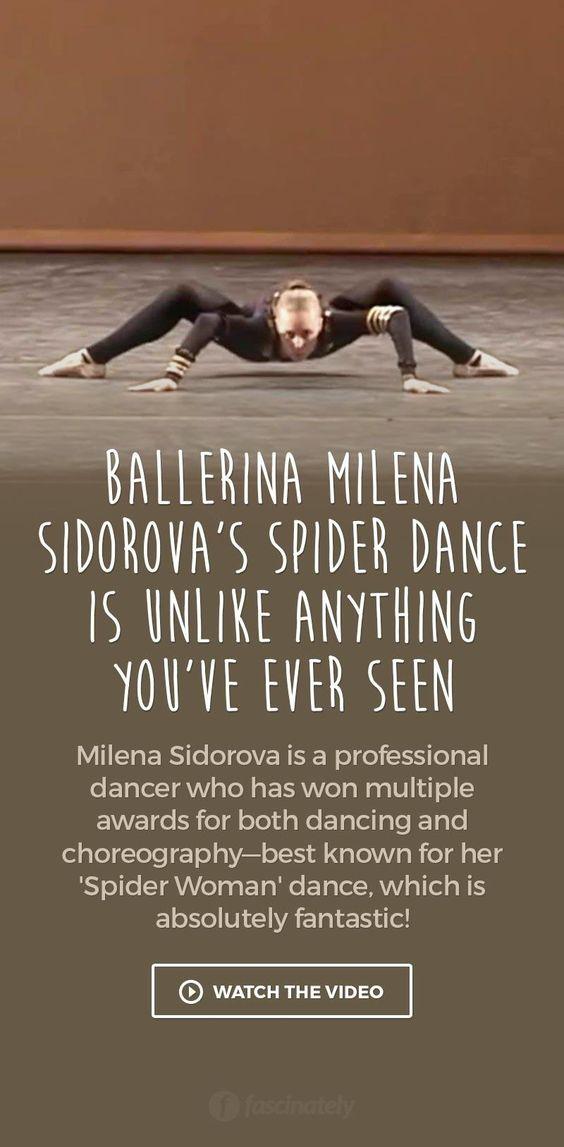 Ballerina Milena Sidorova's Spider Dance is Unlike Anything You've Ever Seen