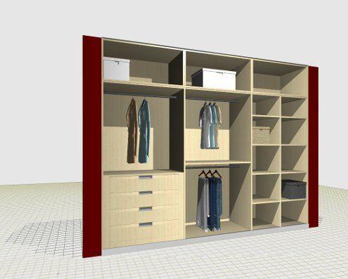 Photo Closet 7 Bedroom Closet Design Cupboard Design Wardrobe