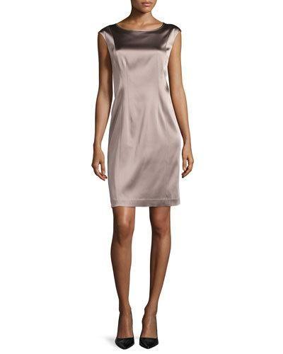 Norina Sleeveless Sheath Dress