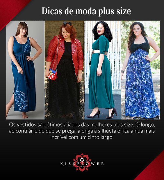 Vestidos longos podem ser bons aliados na hora de valorizar as curvas e investir em um look pra lá de feminino. Veja a nossa dica de hoje: