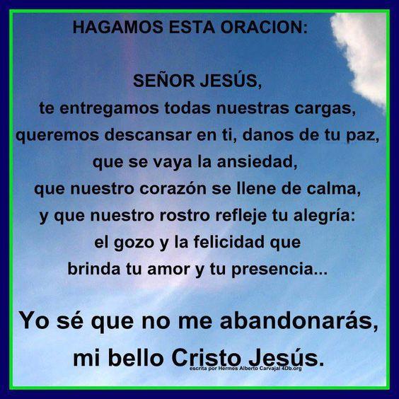 Oracion Espa Ol 2 Pinterest