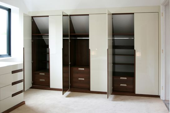 #loft #wardrobe internals design