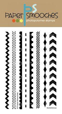 Paper Smooches:  Borderlicious