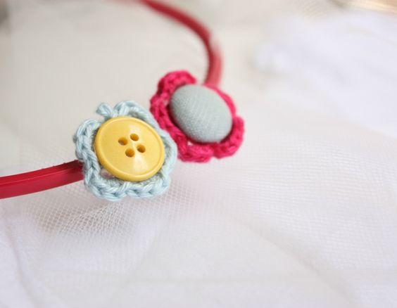 DIY flower accessories