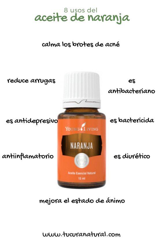 usos del aceite esencial de naranja