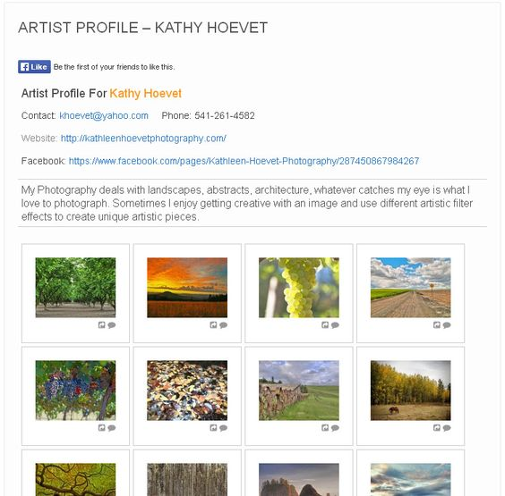 We are pleased to announce a fantastic new photographer, Kathy Hoevet, is now a part of the Art Storm. http://www.artstorm.com/kathy-hoevet/