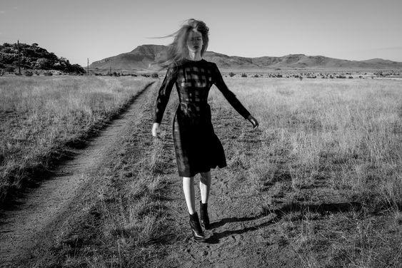 Photography Thom Jackson Creative direction Andrew Weir Model Julia Hafstrom