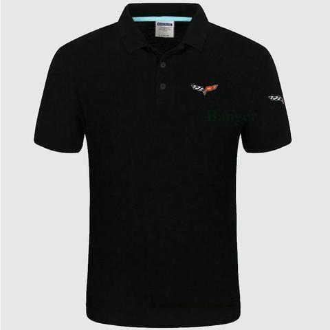Plus Size S 3xl Brand New Men S Chevrolet Corvette Logo Polo Shirt Men Short Sleeve Cotton Polo Shirts Mens Polo Mens Tops Polo