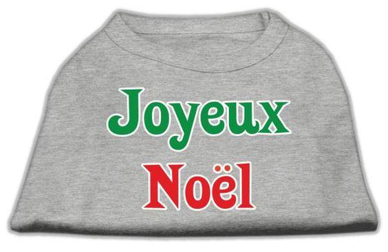 Joyeux Noel Screen Print Shirts Grey XXL (18)