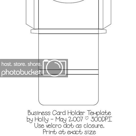 Business Card Holder Photo By Maryperri Business Card Holders Business Cards Box Template