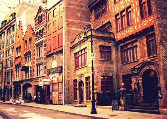 A Step Back in Time - Stone Street Historic District - Financial District - New York City by Vivienne Gucwa