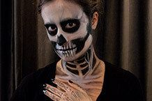 Skeleton Makeup A