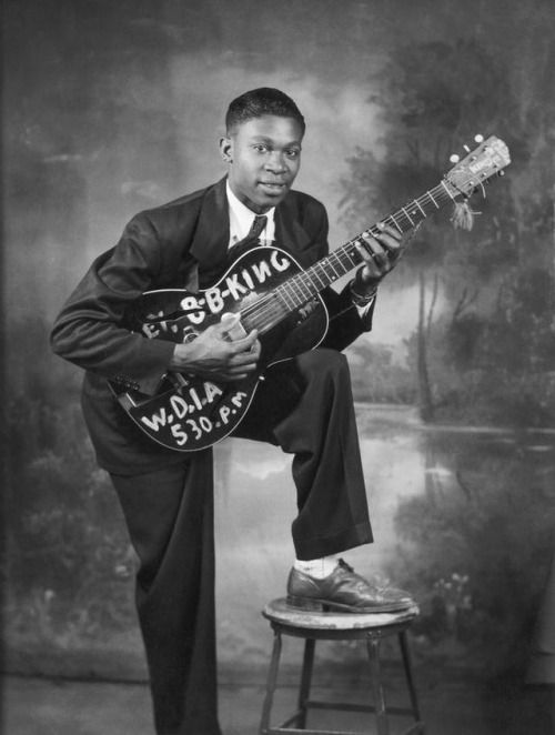RIP B.B. King (September 16, 1925 – May 14, 2015), blues legend and American music icon