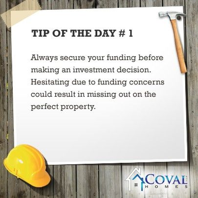 Some important property tips for investors  www.covalhomes.com