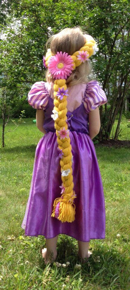 Rapunzel Hair by RileyJInspired on Etsy, $28.00