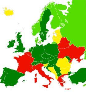 Karte EU