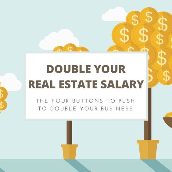 Double Your #Realestate Salary - https://www.easyagentpro.com/blog/real-estate-agent-salary/# via @easyagentpro