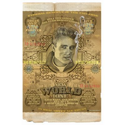PrestigeArtStudios New World Money Dean Graphic Art