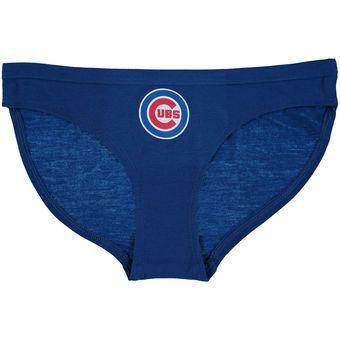 Chicago Cubs Concepts Sport Women's Team Logo Panties - Royal
