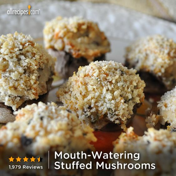 ... Mouth-Watering Stuffed Mushrooms) http://allrecipes.com/video/629