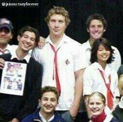 Blurry pic but a school photo of jai
