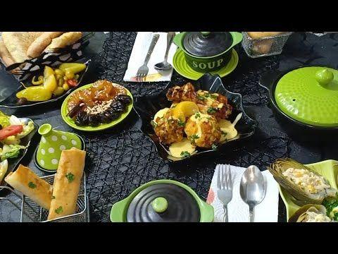كنا صايمين درت طاولة افطار بأطباق سهلة جبتلكم ريحة رمضان راكم معروضين عندي Youtube Food Breakfast
