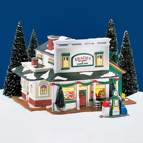 Dept 56 Christmas 2021 Gracie S Dry Goods General S In 2021 Christmas Village Collections Department 56 Christmas Village Outdoor Christmas Decorations
