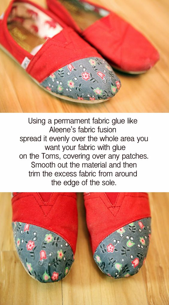 Ramblings From Utopia: DIY: Toms Repair Makeover (Need this for my gray toms)
