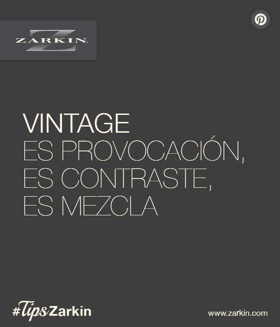 #Vintage #Contraste #Mezcla