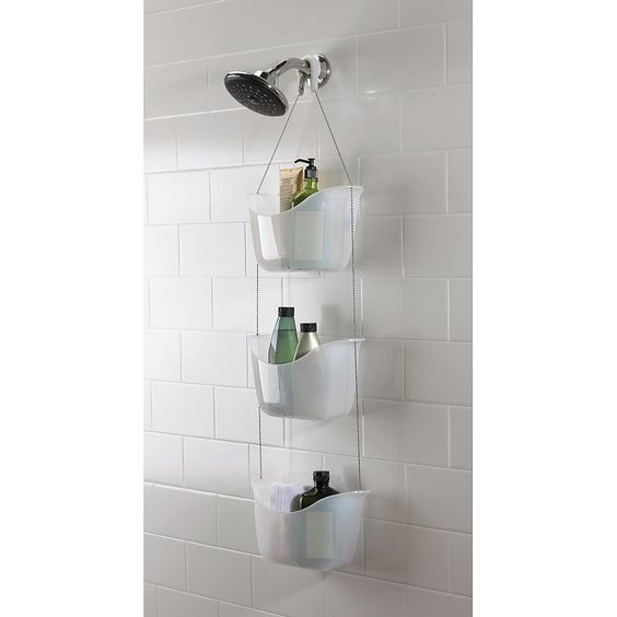 Umbra Bask Douche Caddy Set van 3 - Wit