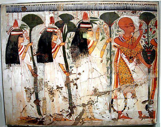Murals and pintura on pinterest for Beni hasan mural