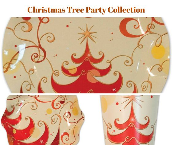 Christmas Tree Party Banner
