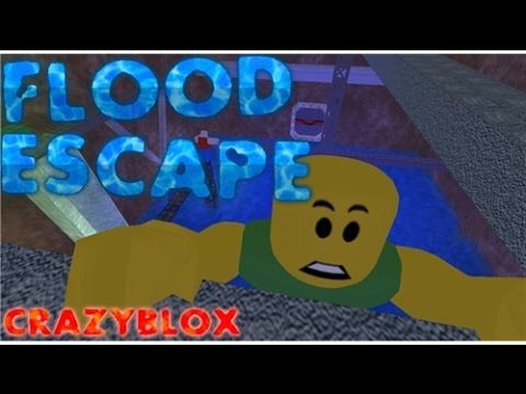 Roblox Gameplay Flood Escape Minecraft Rogers Hero Of Robloxia