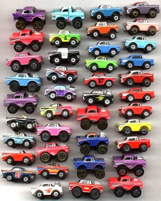 Micro Machines - These little guys were adorable and super fun to play with. I still have mine!